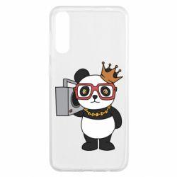 Чохол для Samsung A50 Cool panda