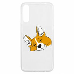 Чохол для Samsung A50 Corgi is dozing