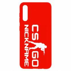 Чохол для Samsung A50 Counter-Strike nickname