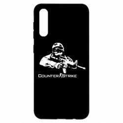 Чохол для Samsung A50 Counter StrikeПлеєр