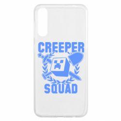 Чохол для Samsung A50 Creeper Squad
