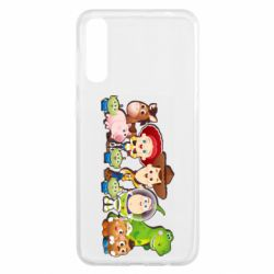Чохол для Samsung A50 Cute characters toy story