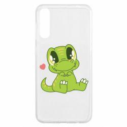 Чохол для Samsung A50 Cute dinosaur