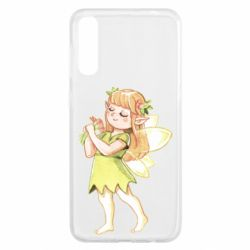 Чохол для Samsung A50 Cute Fairy in watercolor style