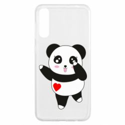Чохол для Samsung A50 Cute little panda