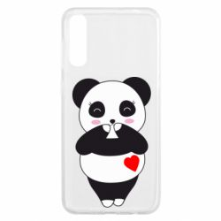 Чохол для Samsung A50 Cute panda