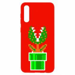 Чохол для Samsung A50 Квітка-людожер Супер Маріо