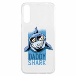 Чохол для Samsung A50 Daddy shark