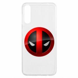 Чохол для Samsung A50 Deadpool Logo