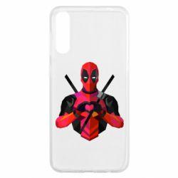 Чохол для Samsung A50 Deadpool Love