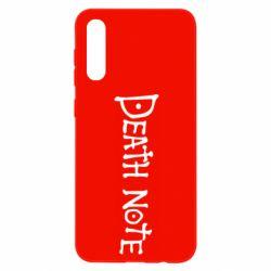 Чохол для Samsung A50 Death note name