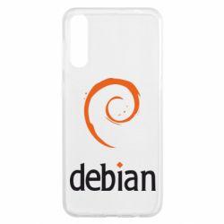 Чехол для Samsung A50 Debian