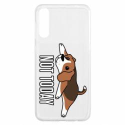 Чохол для Samsung A50 Dog not today