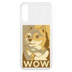 Чохол для Samsung A50 Doge wow meme