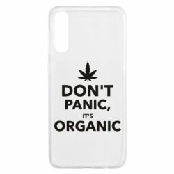Чохол для Samsung A50 Dont panic its organic