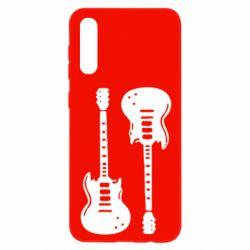 Чохол для Samsung A50 Дві гітари