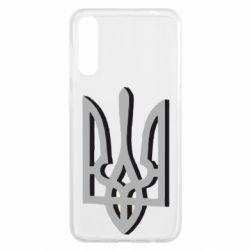 Чохол для Samsung A50 Двокольоровий герб України