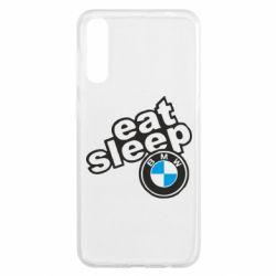 Чохол для Samsung A50 Eat, sleep, BMW