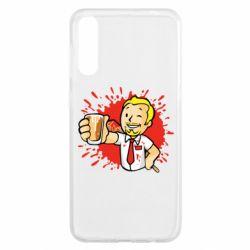 Чохол для Samsung A50 Fallout  boy blood