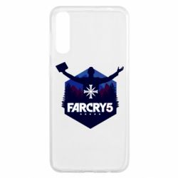 Чохол для Samsung A50 Far cry 5 silhouette Joseph Seed
