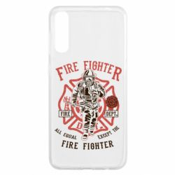 Чохол для Samsung A50 Fire Fighter