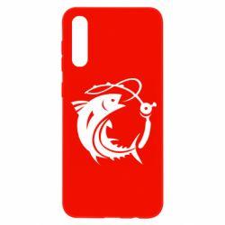 Чохол для Samsung A50 Fish on the hook