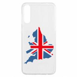 Чехол для Samsung A50 Флаг Англии