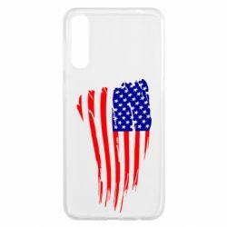 Чохол для Samsung A50 Прапор США