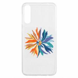 Чохол для Samsung A50 Flower coat of arms of Ukraine