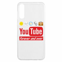 Чохол для Samsung A50 Forever and ever emoji's life youtube