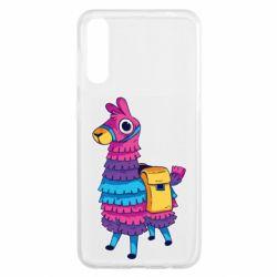 Чохол для Samsung A50 Fortnite colored llama