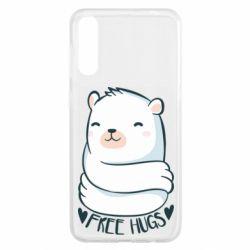 Чохол для Samsung A50 Free hugs bear