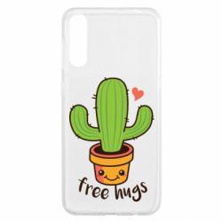 Чохол для Samsung A50 Free Hugs Cactus