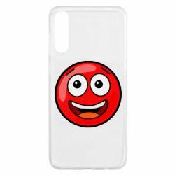 Чохол для Samsung A50 Funny Red Ball