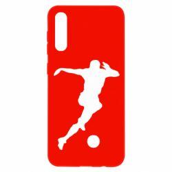 Чехол для Samsung A50 Футбол