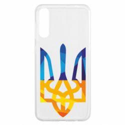 Чохол для Samsung A50 Герб з ломаних смуг