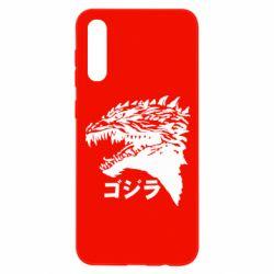 Чохол для Samsung A50 Godzilla in japanese