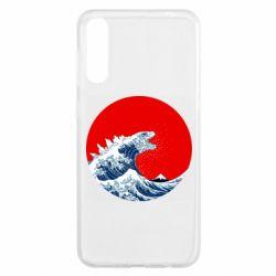 Чохол для Samsung A50 Godzilla Wave