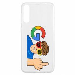 Чохол для Samsung A50 Google guy Fuck You