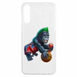 Чохол для Samsung A50 Gorilla and basketball ball
