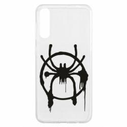 Чохол для Samsung A50 Graffiti Spider Man Logo