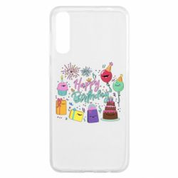 Чохол для Samsung A50 Happy Birthday