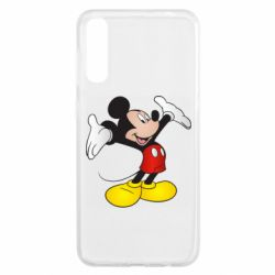 Чохол для Samsung A50 Happy Mickey Mouse