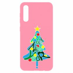 Чохол для Samsung A50 Happy new year on the tree