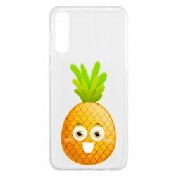 Чохол для Samsung A50 Happy pineapple
