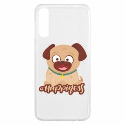 Чехол для Samsung A50 Happy pug