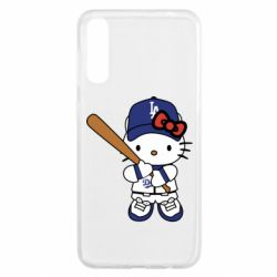 Чохол для Samsung A50 Hello Kitty baseball