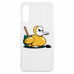 Чохол для Samsung A50 Hockey duck