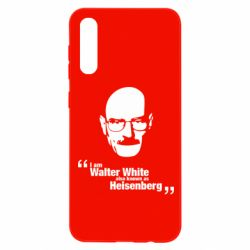 Чохол для Samsung A50 i am walter white also known as гейзенберга