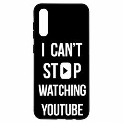 Чохол для Samsung A50 I can't stop watching youtube